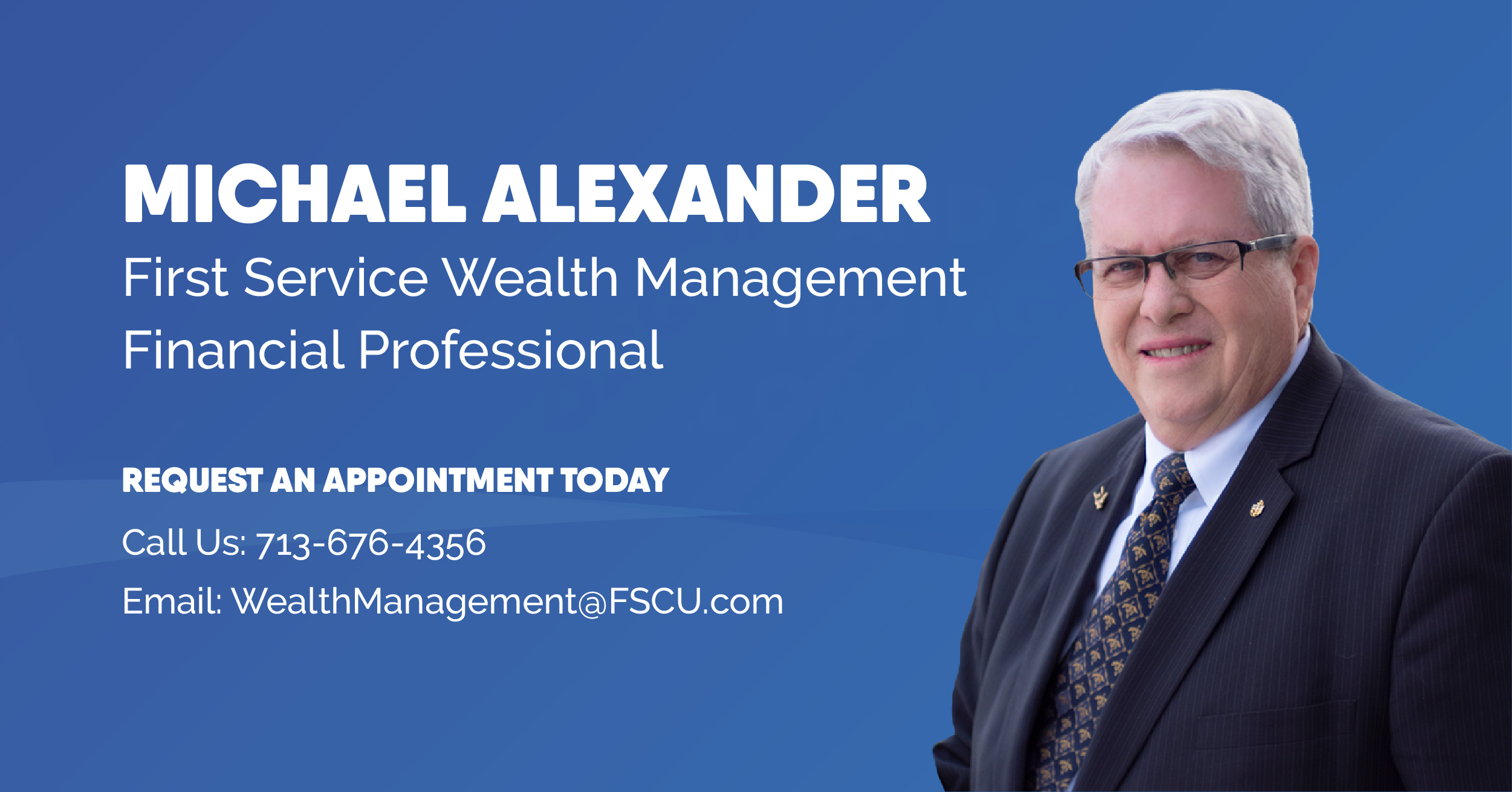 First Service Wealth Management Professional Michael Alexander