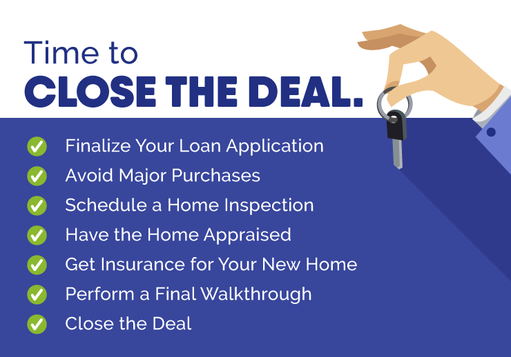 Closing the Deal on Your First Home Checklist