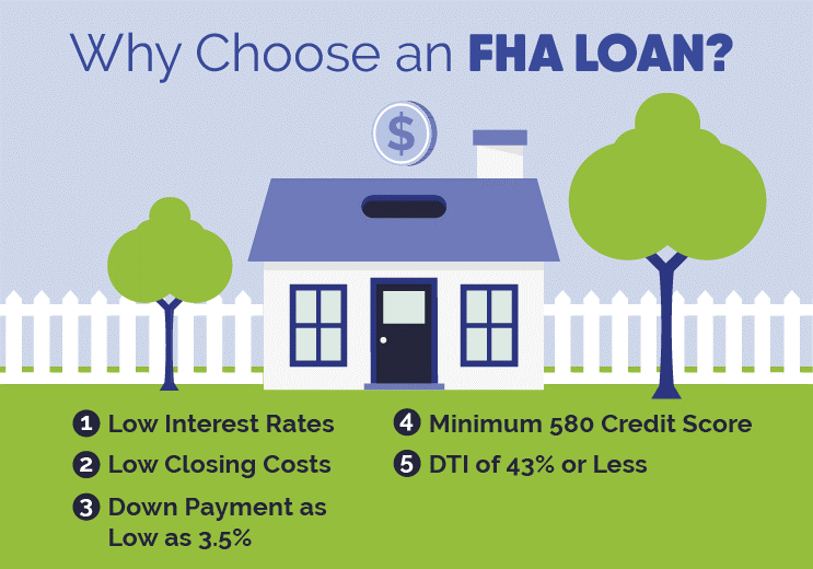 Intro to FHA Loans Infographic