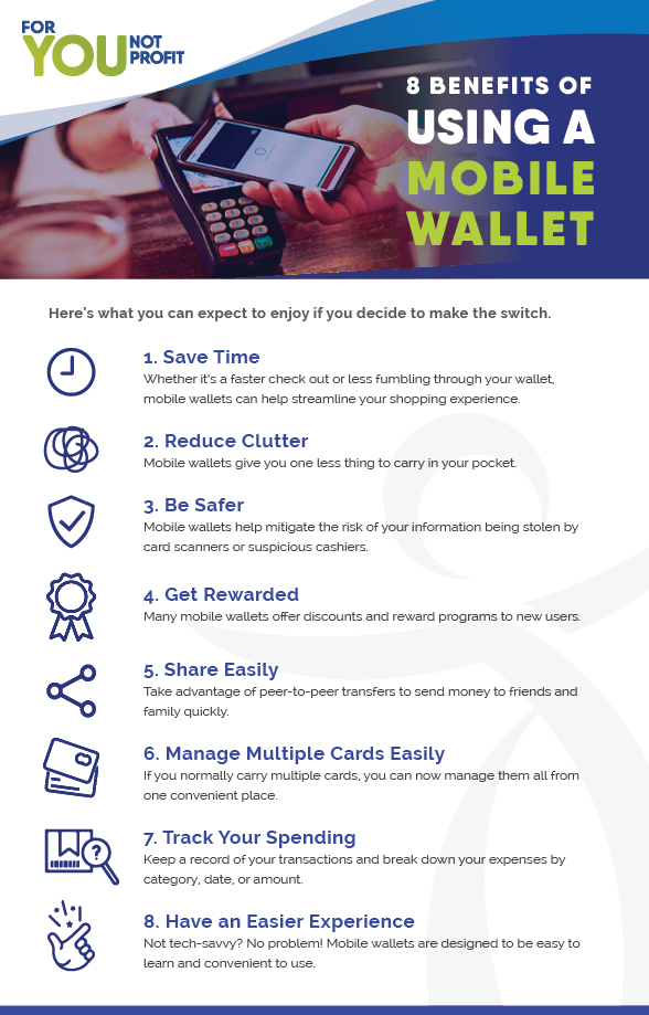 Benefits of Mobile Wallet Infographic
