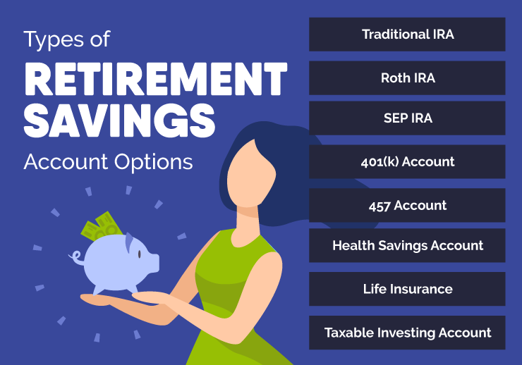 8 Types of Retirement Savings Accounts